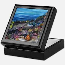 Coral Reef Nursery Keepsake Box