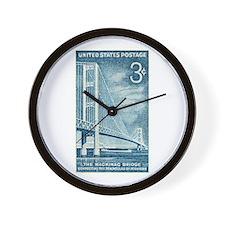Unique Michigan Wall Clock