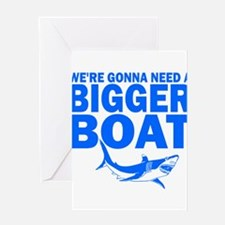 BiggerBoatJaws.png Greeting Cards