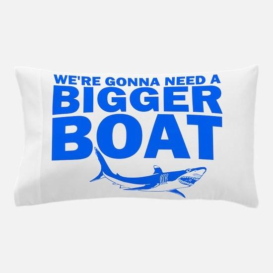 BiggerBoatJaws.png Pillow Case