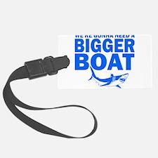 BiggerBoatJaws.png Luggage Tag