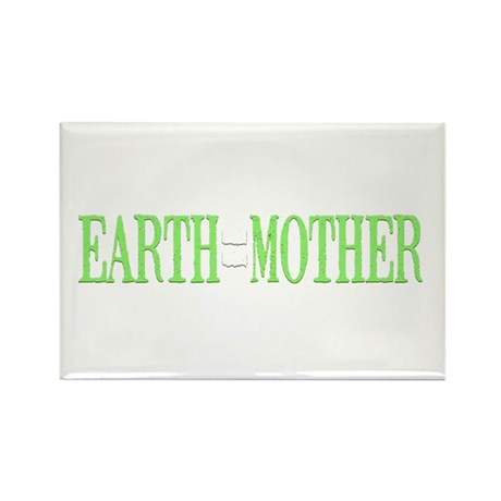 Earth = Mother Rectangle Magnet (100 pack)