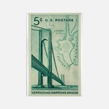 Cute Staten island Rectangle Magnet