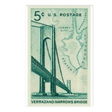 Unique Vintage brooklyn Postcards (Package of 8)