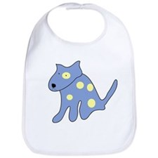 Blue Dog Bib