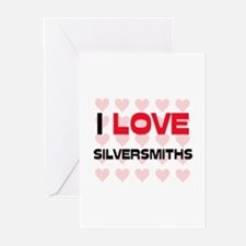 I LOVE SILVERSMITHS Greeting Cards (Pk of 10)