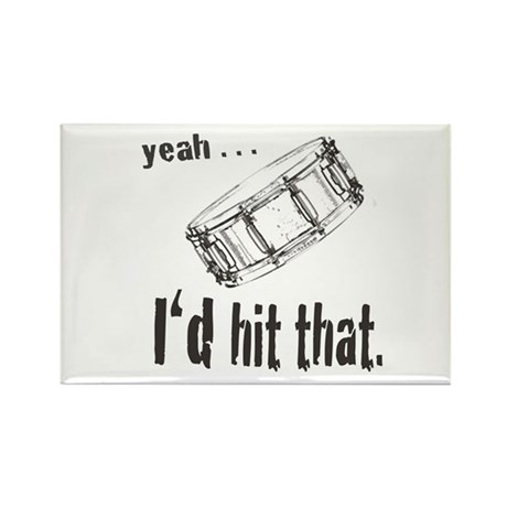 Yeah . . . I'd Hit That Rectangle Magnet (100 pack