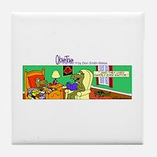 Comic strips Tile Coaster
