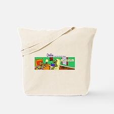 Cute Jurassic park Tote Bag