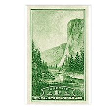 Cute National parks vintage Postcards (Package of 8)