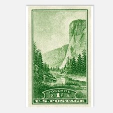 Cute Old stamps Postcards (Package of 8)