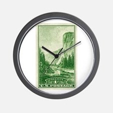 Cute Vintage national parks Wall Clock