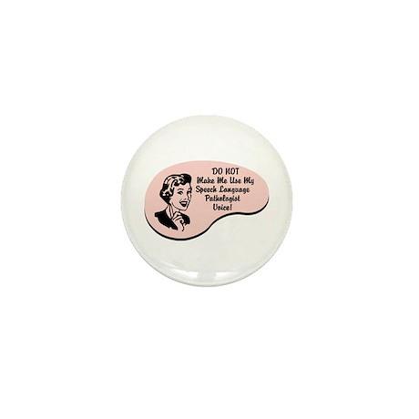Speech Language Pathologist Voice Mini Button (100