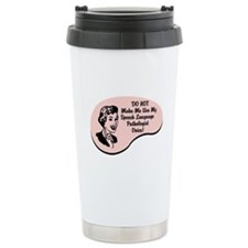 Speech Language Pathologist Voice Travel Mug