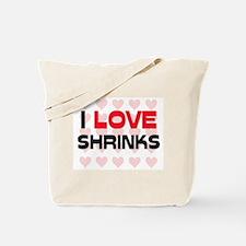 I LOVE SHRINKS Tote Bag