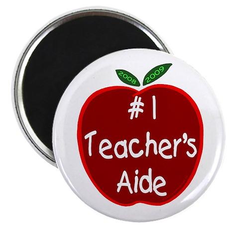 Apple for Teacher's Aide Magnet