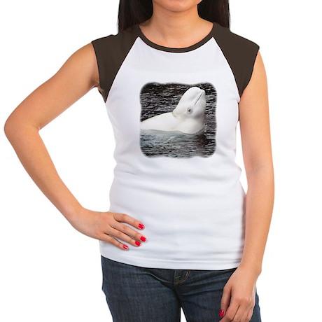 Beluga Head Women's Cap Sleeve T-Shirt