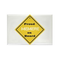 Proud Memere on Board Rectangle Magnet (10 pack)
