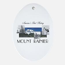 ABH Mount Rainier Oval Ornament