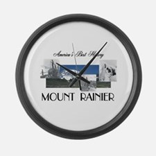 ABH Mount Rainier Large Wall Clock