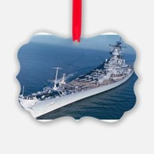BB 64 Ships Image Ornament