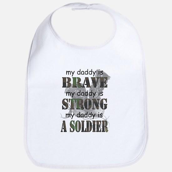My Daddy is a Soldier Bib
