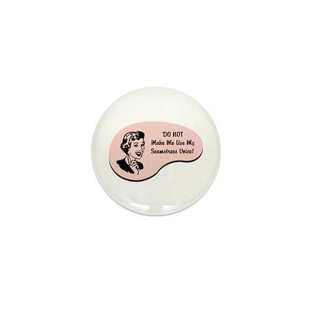 Seamstress Voice Mini Button