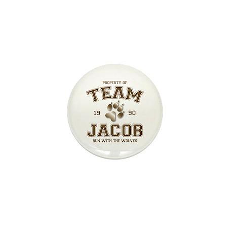 Twilight Team Jacob Mini Button