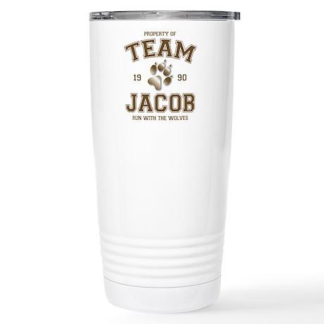 Twilight Team Jacob Stainless Steel Travel Mug