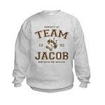 Twilight Team Jacob Kids Sweatshirt
