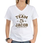 Twilight Team Jacob Women's V-Neck T-Shirt