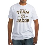Twilight Team Jacob Fitted T-Shirt