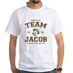 Twilight Team Jacob White T-Shirt