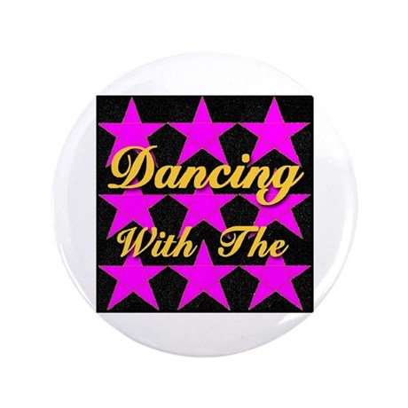 """Dancing With The Stars 3.5"""" Button (100 pack)"""