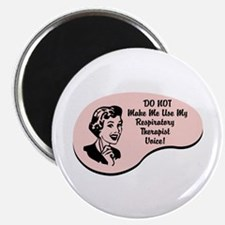 """Respiratory Therapist Voice 2.25"""" Magnet (100 pack"""