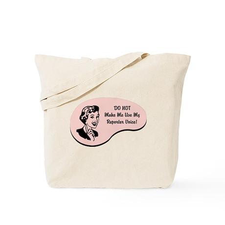 Reporter Voice Tote Bag