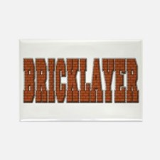 Bricklayer Rectangle Magnet