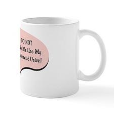 Receptionist Voice Small Mug