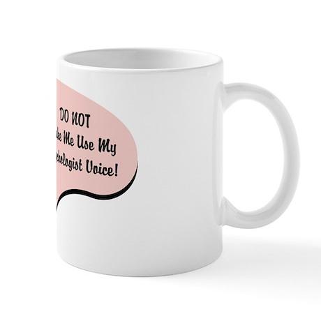 Psychologist Voice Mug