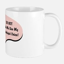 Psychologist Voice Mug