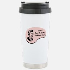 Psychologist Voice Stainless Steel Travel Mug