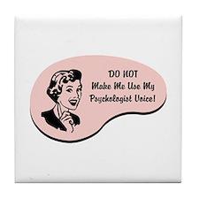 Psychologist Voice Tile Coaster