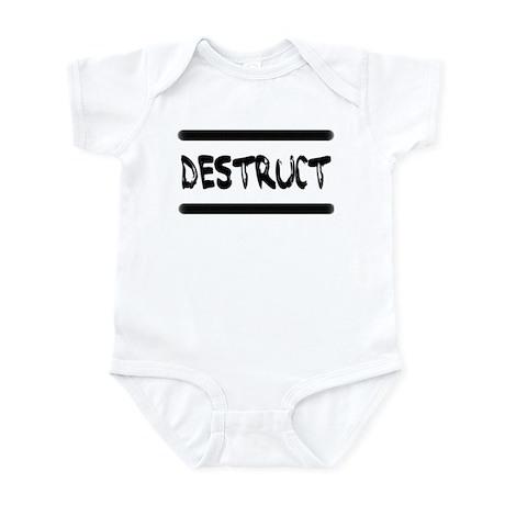 Destruct Triplets Infant Bodysuit