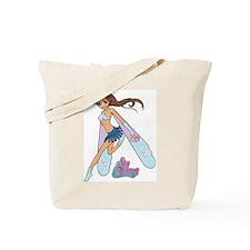 Jade Sky Dancer Tote Bag