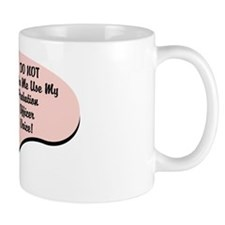 Probation Officer Voice Small Mug