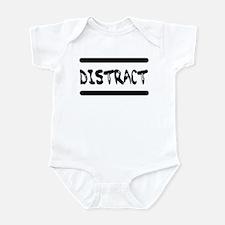 Distract Triplets Infant Bodysuit