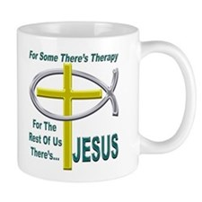 Jesus Therapy Coffee Cup