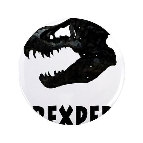 """T-Rexpert 3.5"""" Button (100 pack)"""