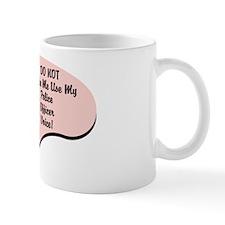 Police Officer Voice Small Mug