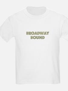 Broadway Bound Kids T-Shirt